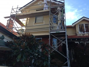painting-maintenance-Residential-project-during-shot